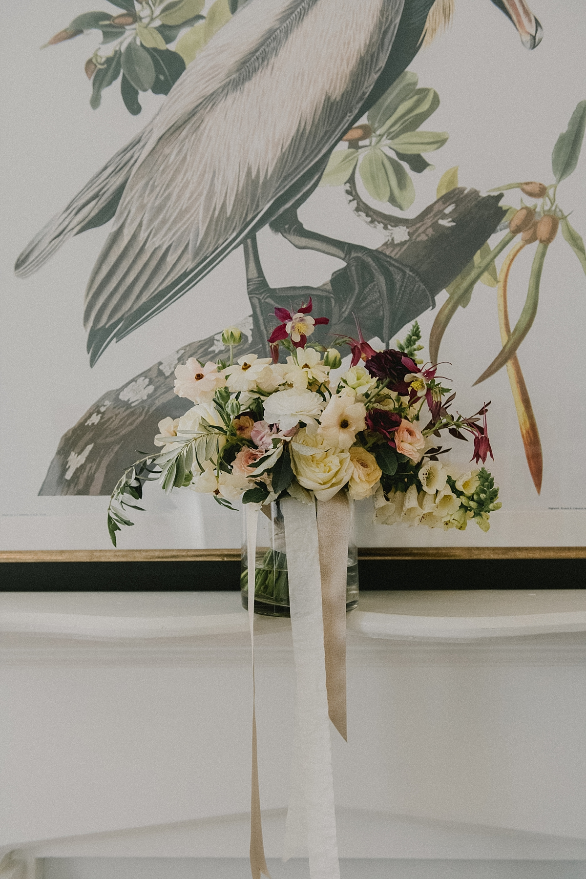 Pistil and Stamen's gorgeous bouquet for a wedding at Mazant House in New Orleans.